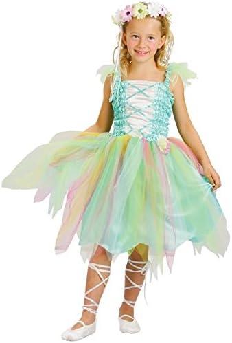 Disfraz de princesa flor para niña 10-12 años (140/152): Amazon.es ...