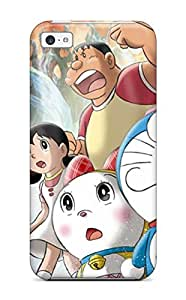 Awesome Design Doraemon Hard Case Cover For Iphone 5c