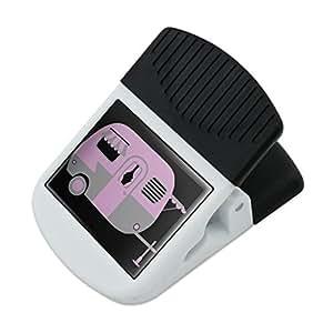 Pink Camper Trailer Camping Refrigerator Fridge Magnet Magnetic Hanging Hook Note Snack Clip