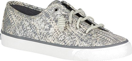 Sperry Top-sider Mujeres Seacoast Python Gris / Plata