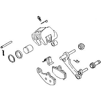 SUZUKI NEW K/&L REAR BRAKE CALIPER REBUILD KIT 32-1425