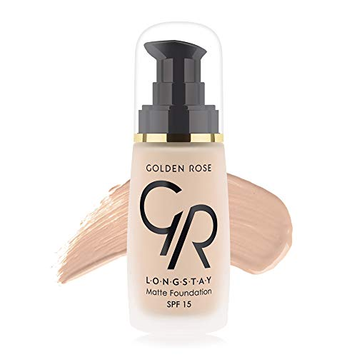 Matte Long Wear Oil Free Foundation with SPF 15#01 - Ivory Best Oil Free Foundation