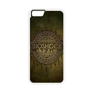 iphone6 plus 5.5 inch phone case White Bioshock Logo EDA6812494