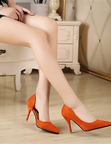 Ante uk6 uk6 Tacones us8 orange Naranja us8 uk3 Rosa eu36 cn39 Casual Stiletto 5 orange Negro GGX Mujer 5 cn35 Tacón Tacones eu39 eu39 cn39 us5 orange tqZxZwUYaO