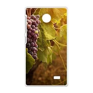 Sweet Grapes White Phone Case for Nokia Lumia X