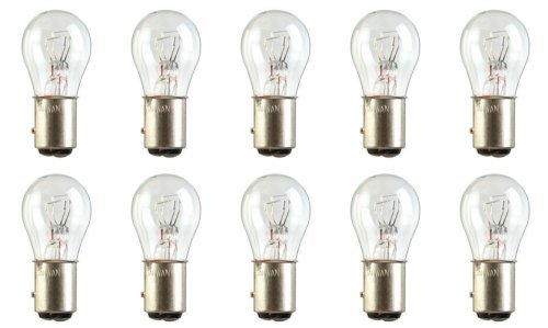 Base Bay15d - CEC Industries #7537 Bulbs, 24/24 V, 21.12/5.04 W, BAY15d Base, S-8 shape (Box of 10)
