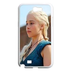 Samsung Galaxy N2 7100 Cell Phone Case White_Daenerys Targaryen Game Of Thrones Hnqux