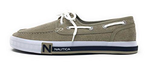 Nautica Heren Spinnaker Kant-up Boot Schoen, Casual Loafer, Mode Sneaker Gewassen Jute