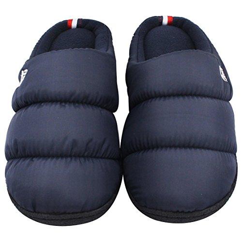Pantofole Rovesciate Di Gomma Piuma Di Zanzara Di Memoria Delle Donne Del Rockdove Le Scarpe Domestiche Lavabili Calde Blu Navy