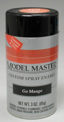 Mango Enamel (Testors Model Master Automotive Enamel Go Mango Spray 1:0 Scale)