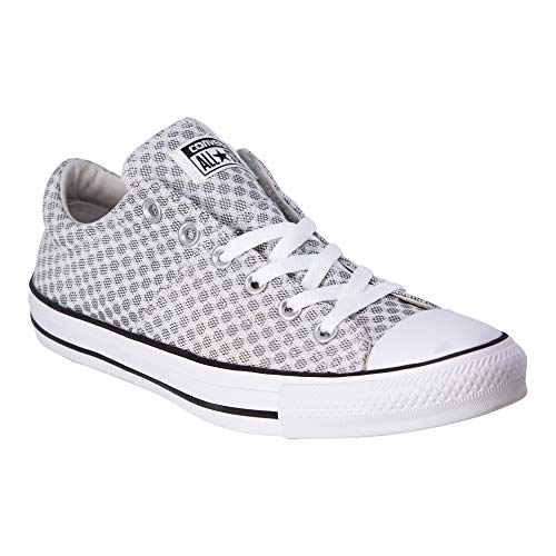 Converse Women's Madison Mini Dots Low Top Sneakers (Pale Putty/White/Black, 7 M US) (Putty Top)
