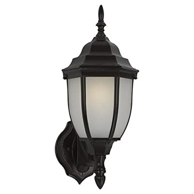 Sea Gull Lighting 88940BL Bakersville 1 Light Outdoor Lantern Wall Sconce,