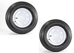 2-Pack Trailer Wheel & Tire #425 ST175/80D13 175/80 D 13\