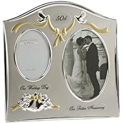 50th Golden Anniversary Photo Frame