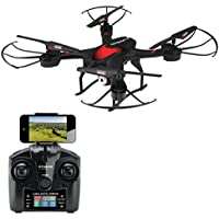 Polaroid PL300 Quadcopter Drone, Black
