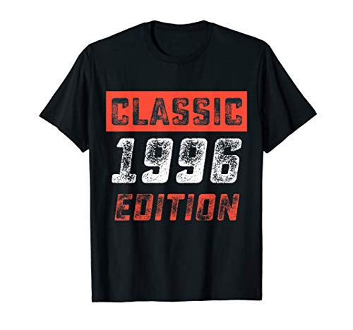 Vintage Classic Shirt 1996 22nd Years Old 22 Birthday - 1996 Serigraph