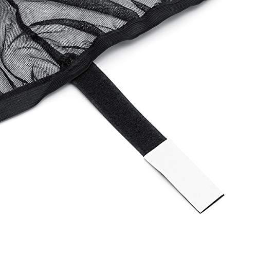 Gavita-Star - 2pcs Car Rear Window Sunshade Mesh Curtain Shied Cover UV  Protector Universal Protection Shield Sun Shade