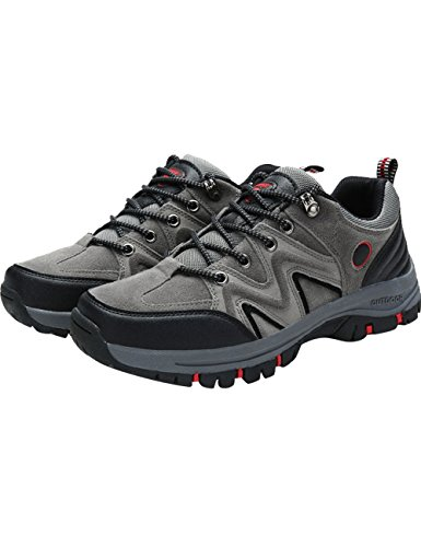 Menschwear Shoes Outdoor Lightweight Shoes 1706 Professional Men's Sneaker Hiking Grey Breathable ppA8rxq