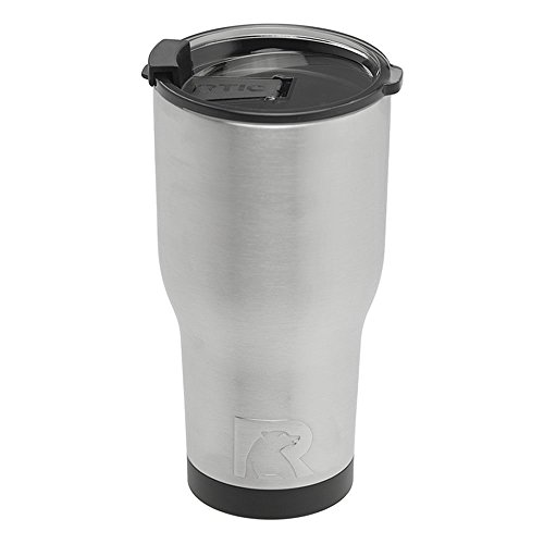 RTIC (191) Double Wall Vacuum Insulated Tumbler, 30 oz, Stainless Steel by RTIC (Image #3)