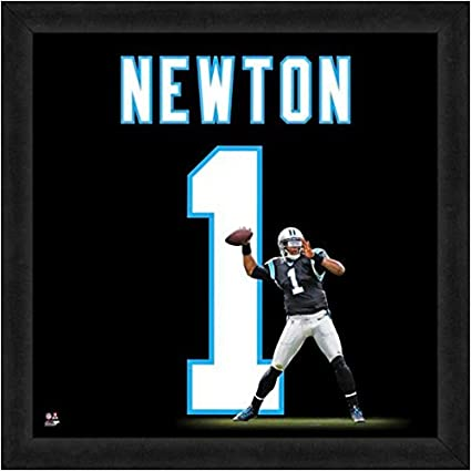9bc0686d4 Image Unavailable. Image not available for. Color  Carolina Panthers Cam  Newton  1 Players Jersey Uniframe