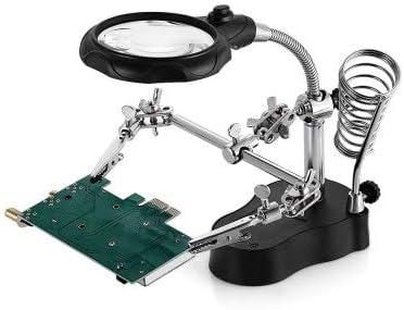RanDal Mg16126 - Una Lámpara De Mesa Led Clip De Lupa De ...