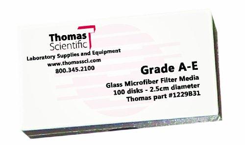 Thomas AE4700 Borosilicate Glass Microfiber Filter, 1