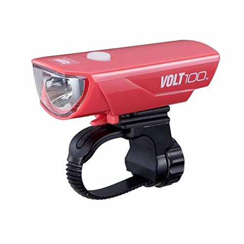 CAT EYE - Volt 100 Rechargeable Headlight, Pink