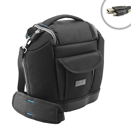 Compact Camera Bag with Accessory Storage & Foam Padding by