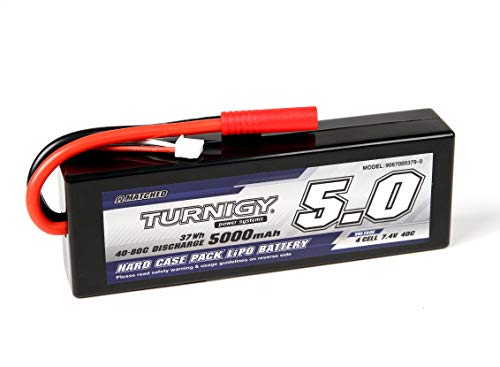 SKB family Turnigy 5000mAh 2S2P 40C Hardcase Pack (Roar Approved) |