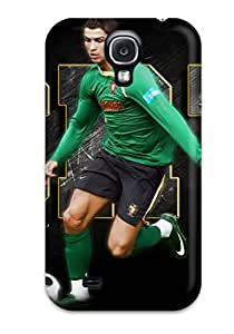 New Snap-on ZippyDoritEduard Skin Case Cover Compatible With Galaxy S4- Cristiano Ronaldo Poster