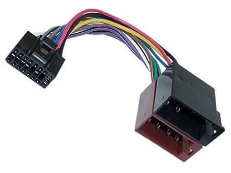 adaptador universo ® din iso conector de cable del adaptador de radio