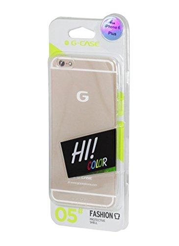 G-CASE Coque ultra fine Transparente pour iPhone 6+ (5.5'')
