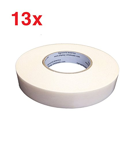 Signworld Heavy Duty Banner Hem Tape - Double Sided - Qty 13