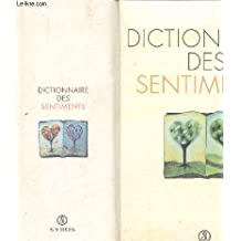 DICTIONNAIRE DES SENTIMENTS