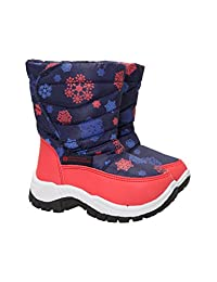 Mountain Warehouse Caribou Printed Junior Snow Boots - Warm Kids Shoes
