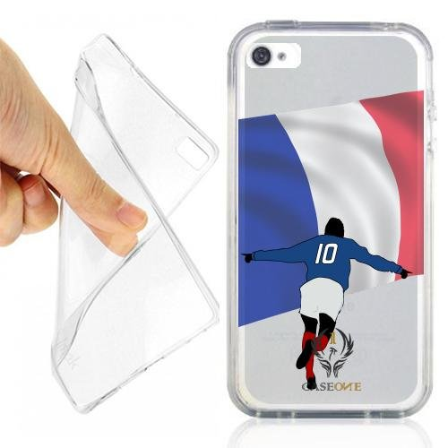 CUSTODIA COVER CASE CALCIATORE FRANCIA PER IPHONE 4S OPACO