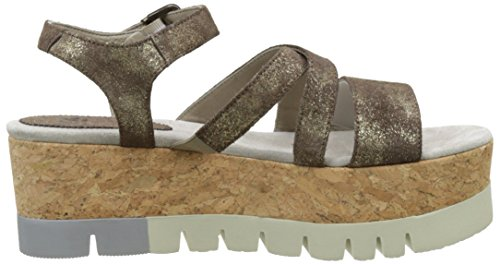 Now 3753, Sandalias con Plataforma para Mujer Marron (Bronzo)