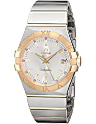 Omega Womens 123.20.35.60.02.002 Constellation Quartz Two Tone Watch