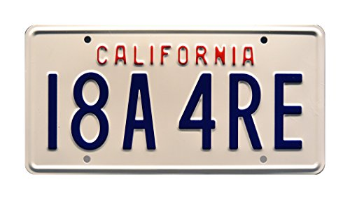 Celebrity Machines Sharknado | I8A 4RE | Metal Stamped License Plate