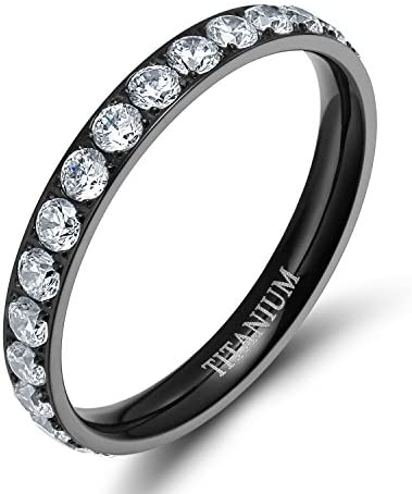 TIGRADE Titanium Engagement Zirconia Eternity product image