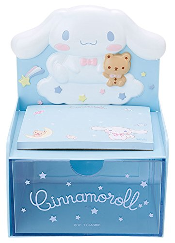 Cinnamoroll Desktop Chest With Memo Pad: Blue by SANRIO