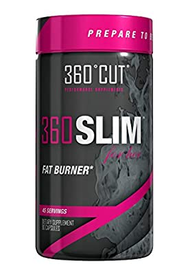 360CUT 360SLIM, Fat Burning Appetite Suppressant for Her, 90 count