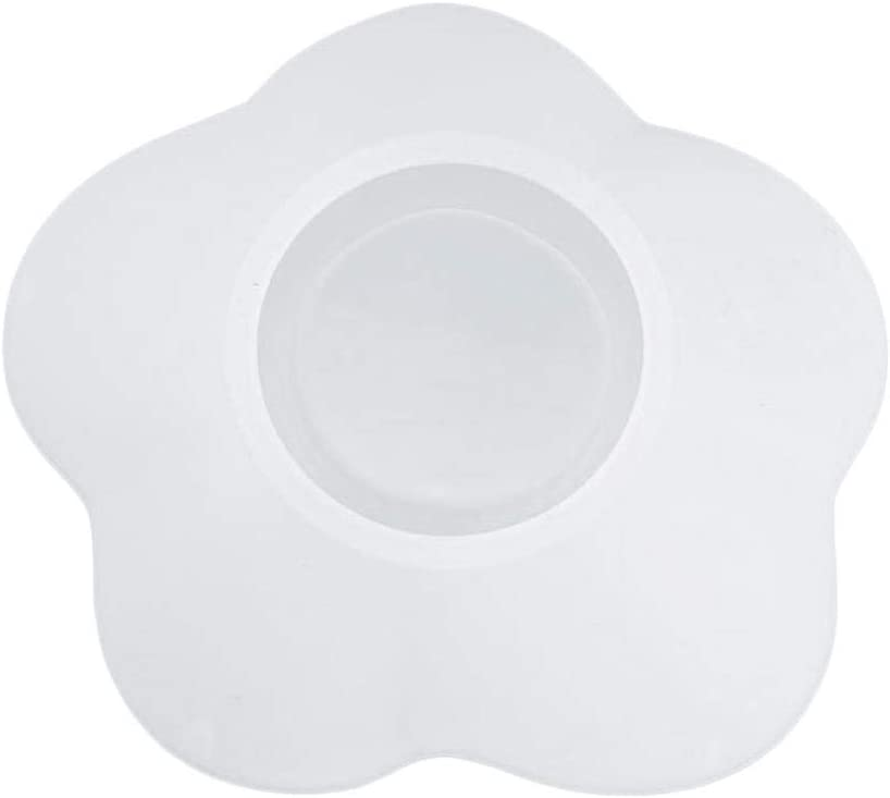 Flower Saucer Small Saucer Decoration Thick and Durable Mould 9 x 9 x 4.4 cm Heoolstranger DIY Crystal Epoxy Mould Petals DIY Epoxy Mould for Saucer