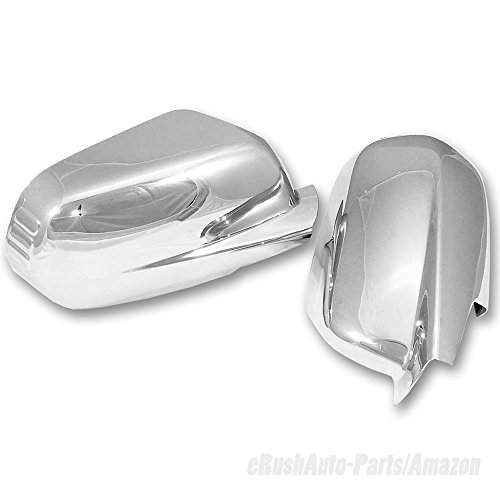 eRushAutoparts Ultra Chrome Door Mirror For 2007-2014 Honda CR-V