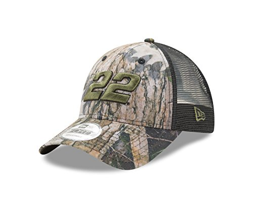 New Era NASCAR True Timber Camo 9Forty Adjustable Trucker Cap, One Size -