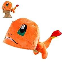 Pokemon Pikachu Charmander Hat soft Plush Stuffed Animals Cosplay Cap