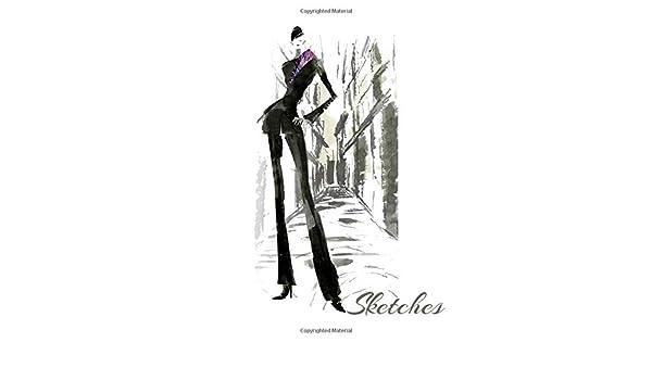 Amazon Com Sketches Fashion Design Sketches Tredning Clothes Drawings Wardrobe Design Costume Cosplay Design 9781709593291 Stylish Fashion Sketches Books