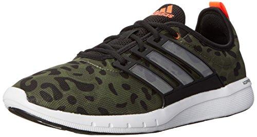 adidas-Performance-Mens-Climacool-Leap-M-Running-Shoe-Dark-Base-GreenBlackRunning-White-105-M-US