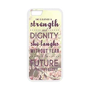 iPhone 6 4.7 Inch Phone Case Bible Quote Proverbs 3125 FG89035