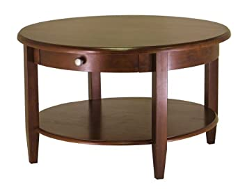 Good Winsome Wood Concord Round Coffee Table